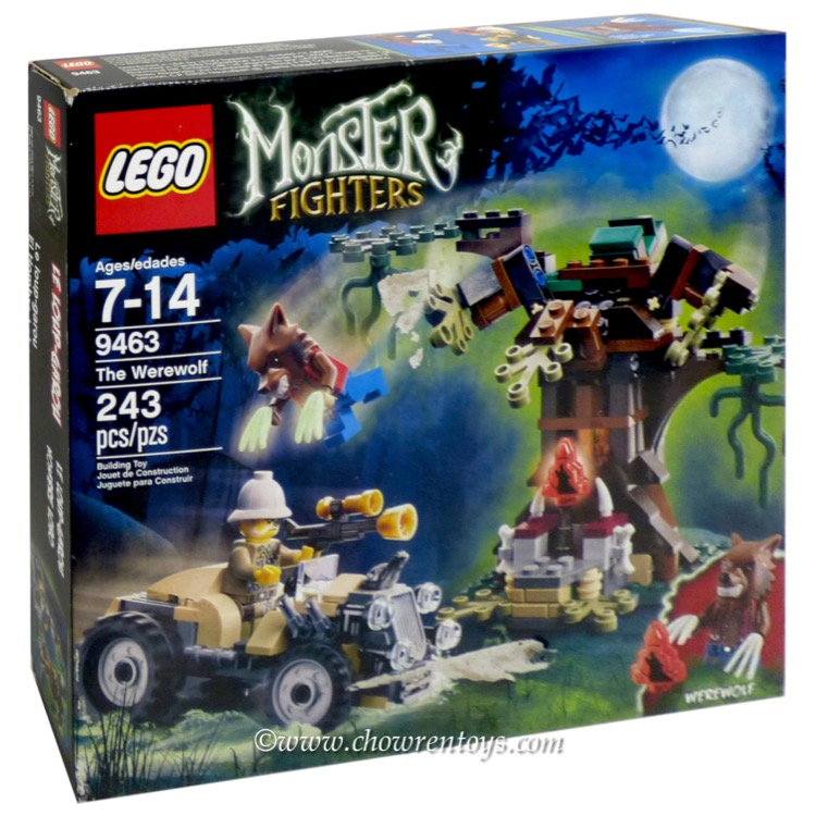 LEGO Monster Fighters Sets: 9463 The Werewolf NEW *Damaged Box*