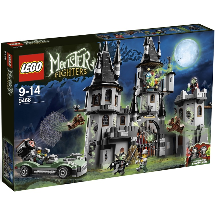 LEGO Monster Fighters Sets: 9468 Vampyre Castle NEW