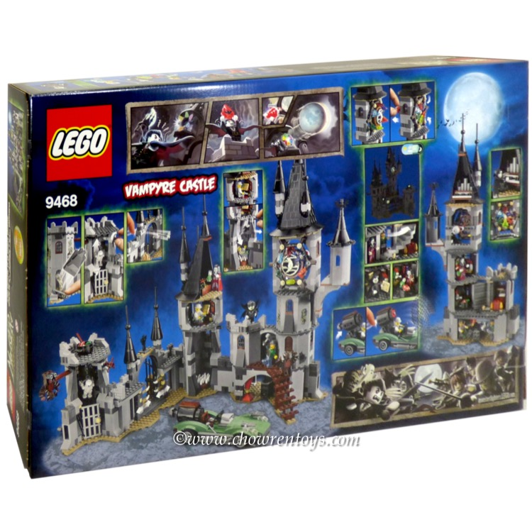 Lego monster fighters sets 9468 vampyre castle new glow in the dark