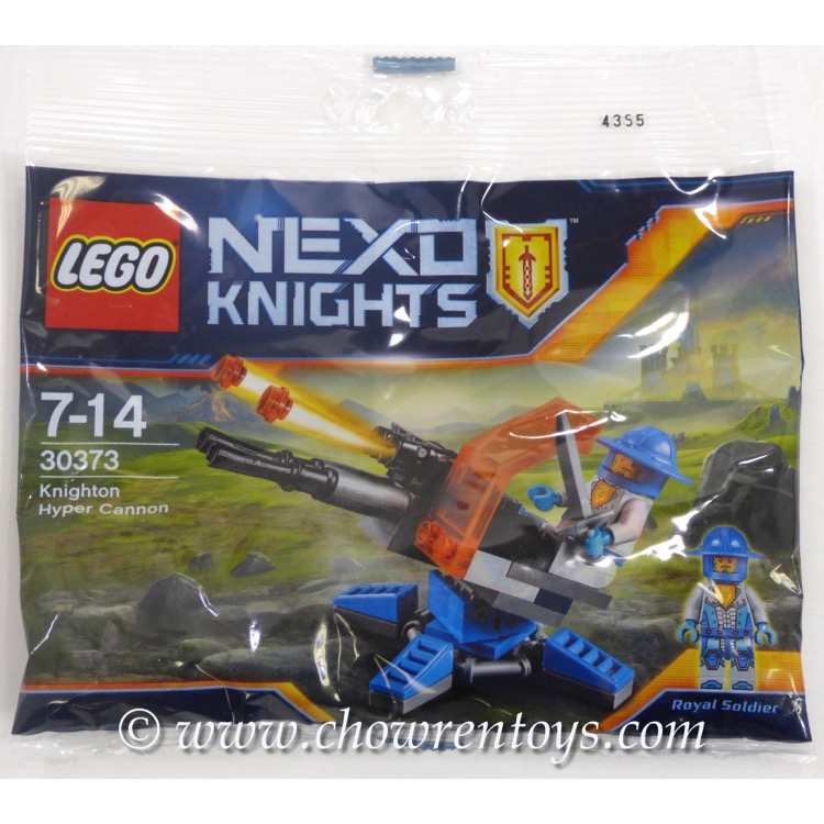 LEGO Nexo Knights Sets: 30373 Knighton Hyper Cannon NEW