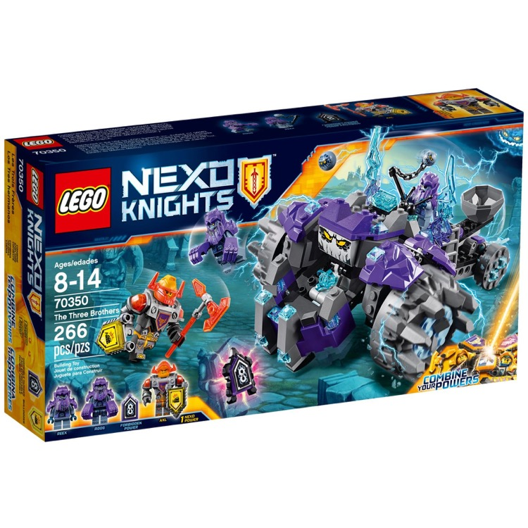 LEGO Nexo Knights Sets: 70350 The Three Brothers NEW
