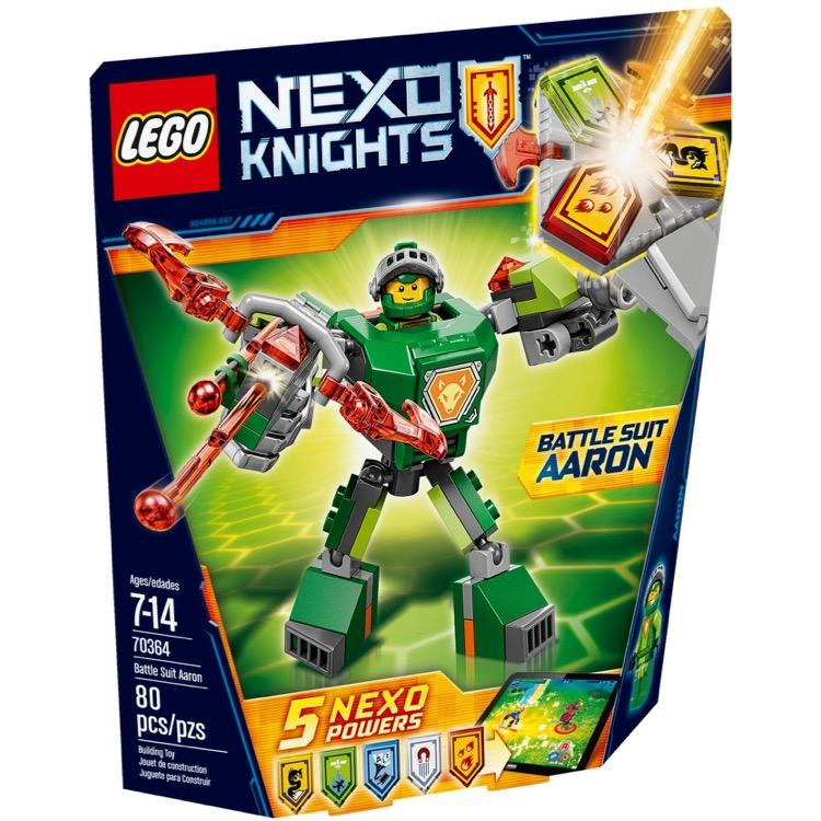 LEGO Nexo Knights Sets: 70364 Battle Suit Aaron NEW