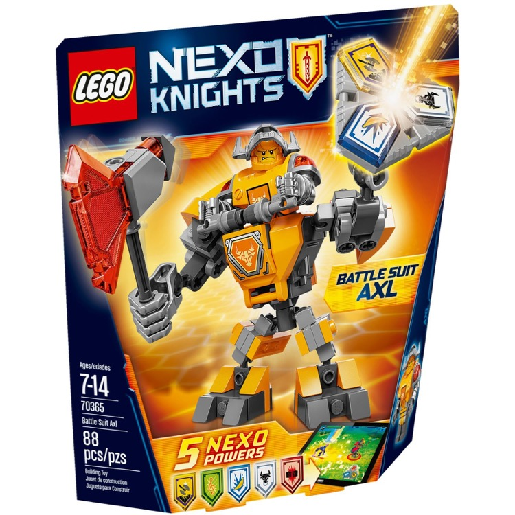 LEGO Nexo Knights Sets: 70365 Battle Suit Axl NEW