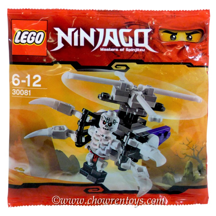 LEGO Ninjago Sets: 30081 Skeleton Chopper NEW