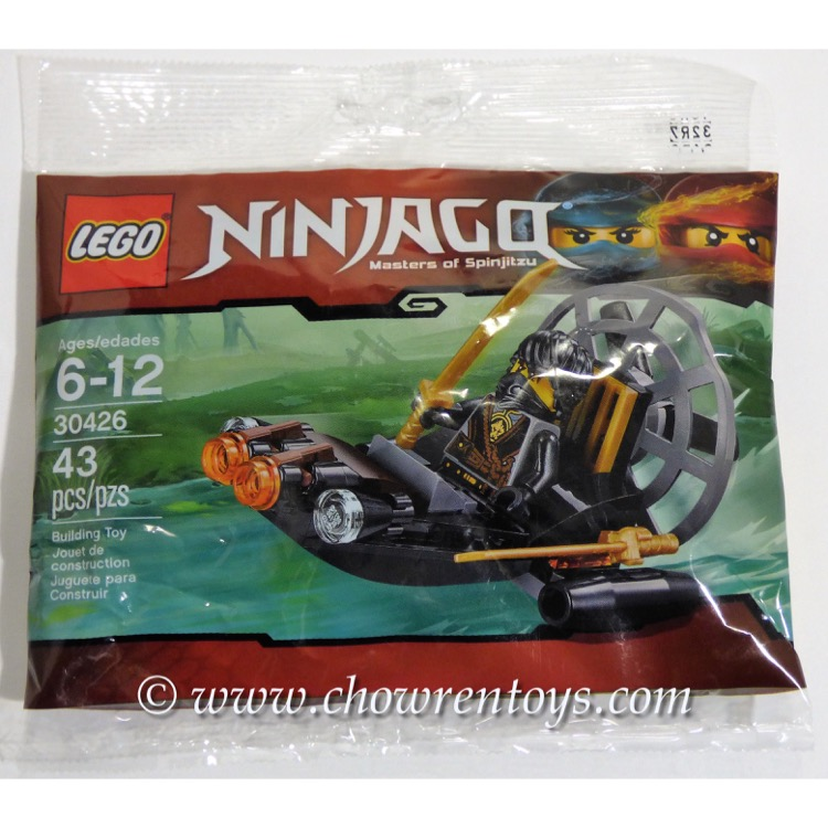 LEGO Ninjago Sets: 30426 Stealthy Swamp Airboat NEW