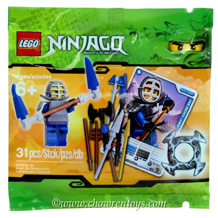 LEGO Ninjago Sets: 5000030 Kendo Jay Booster Pack NEW