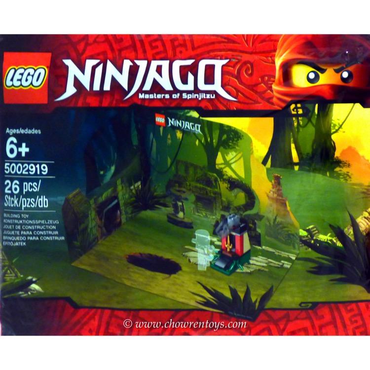 LEGO Ninjago Sets: 5002919 Scenery and Dagger Trap NEW