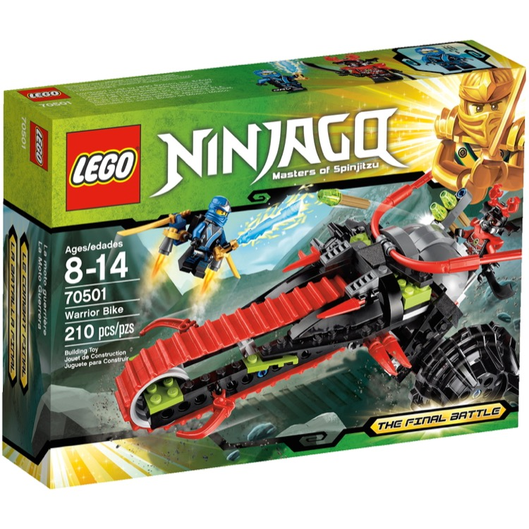 LEGO Ninjago Sets: 70501 Warrior Bike NEW