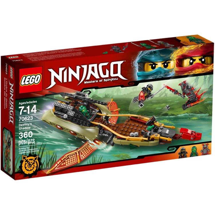 Lego ninjago sets 70623 destiny 39 s shadow new - Ninjago nouvelle saison ...