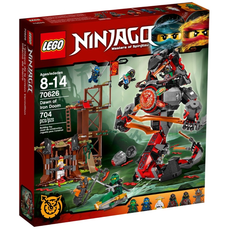 LEGO Ninjago Sets: 70626 Dawn of Iron Doom NEW