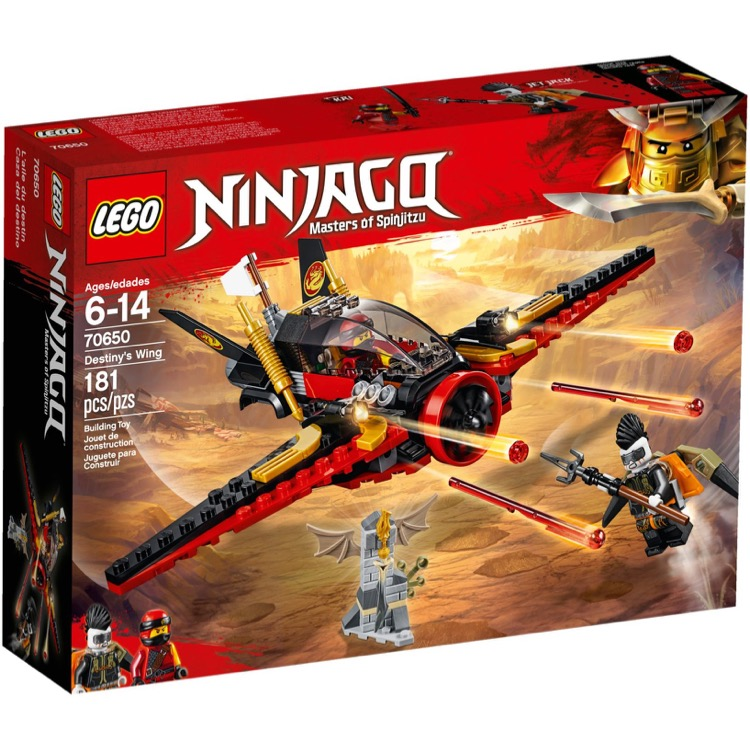 LEGO Ninjago Sets: 70650 Destiny's Wing NEW