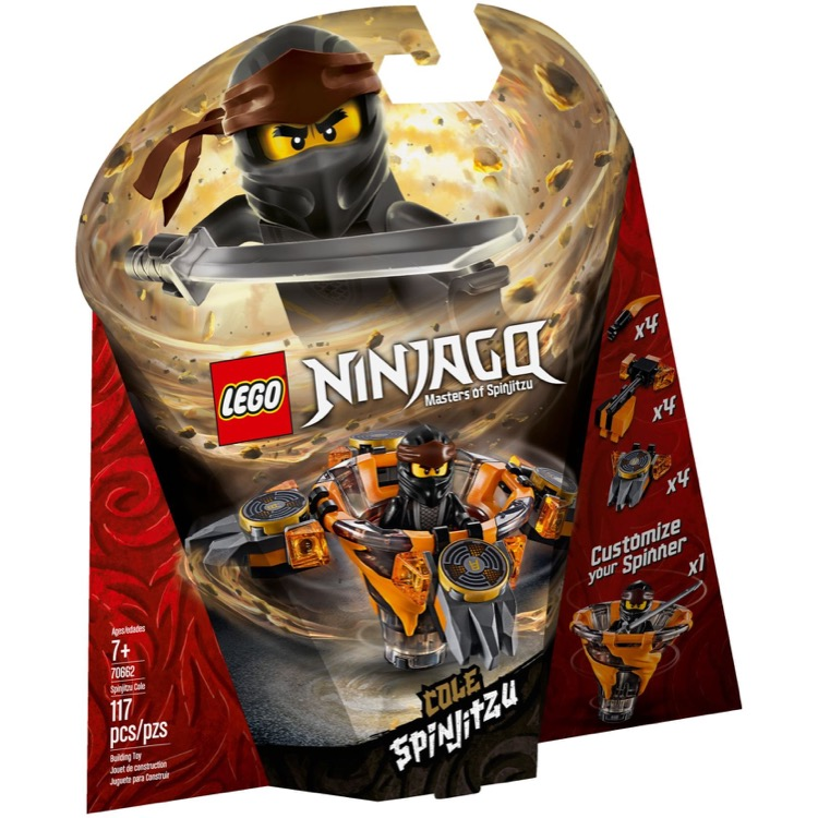 LEGO Ninjago Sets: 70662 Spinjitzu Cole NEW