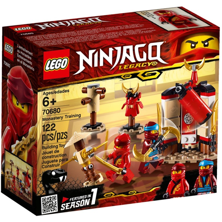 LEGO Ninjago Sets: 70680 Monastery Training NEW