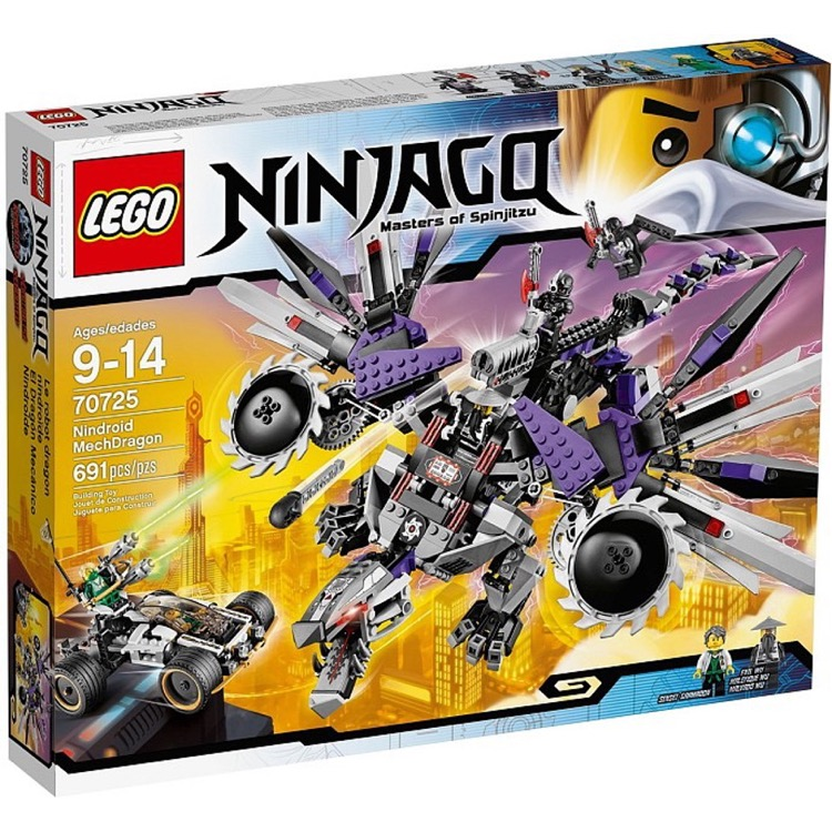 LEGO Ninjago Sets: 70725 Nindroid MechDragon NEW