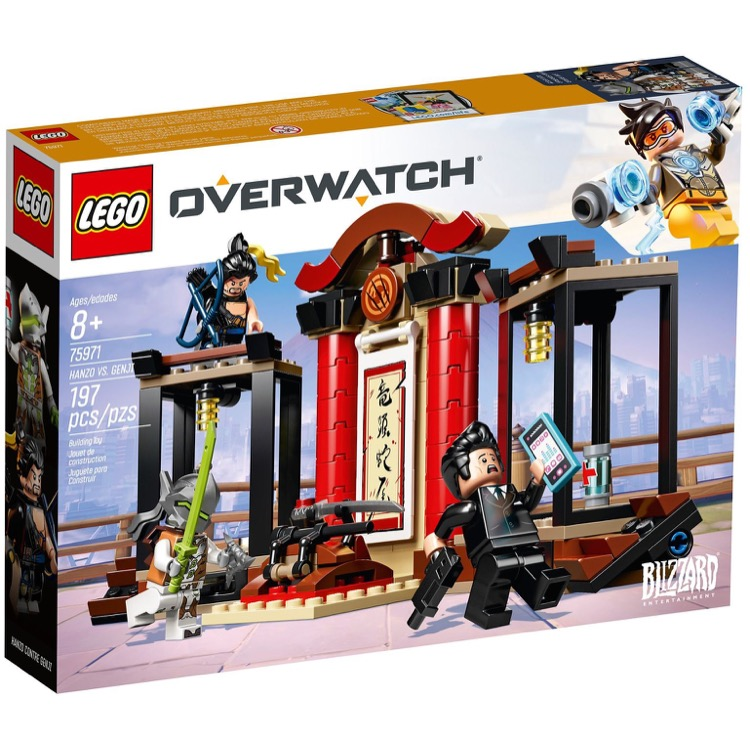 LEGO Overwatch Sets: 75971 Hanzo vs. Genji NEW