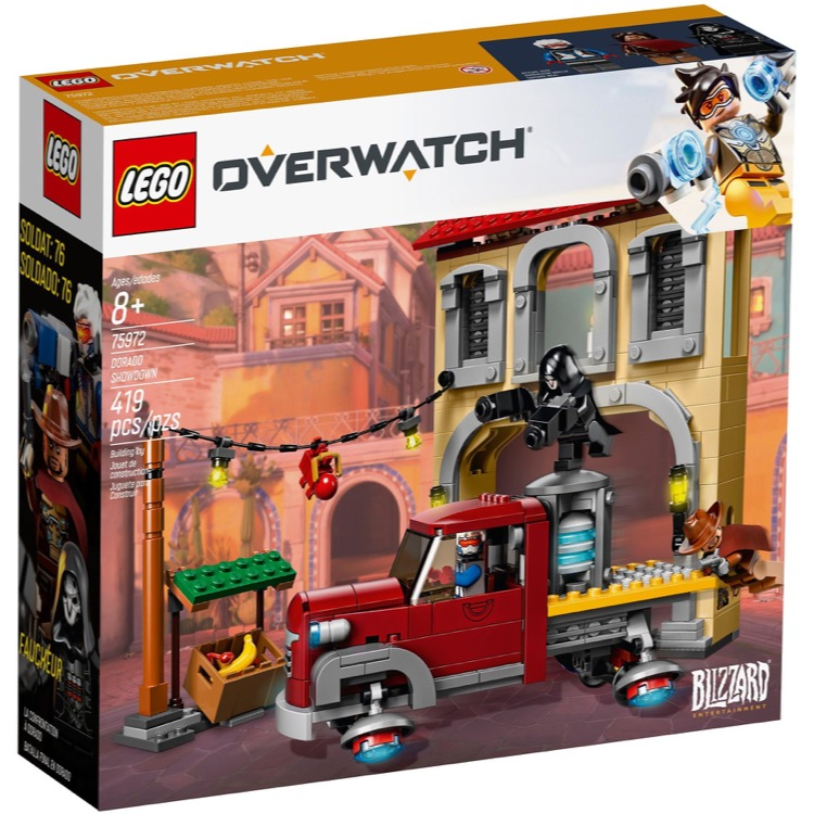 LEGO Overwatch Sets: 75972 Dorado Showdown NEW