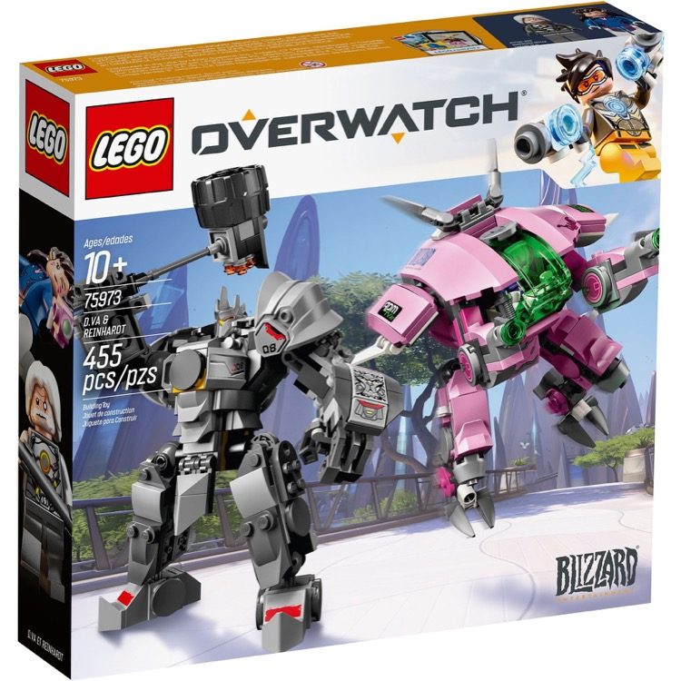 LEGO Overwatch Sets: 75973 D.Va & Reinhardt NEW