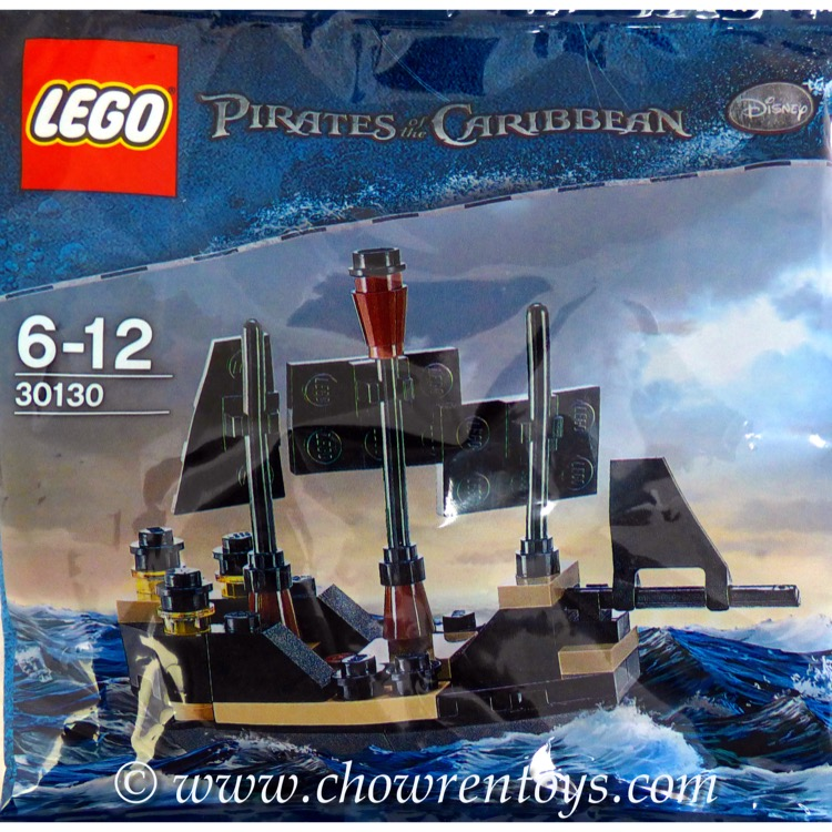 LEGO Pirates of the Caribbean Sets: 30130 Mini Black Pearl NEW