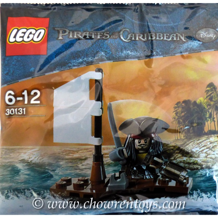 LEGO Pirates of the Caribbean Sets: 30131 Jack Sparrow's Boat NEW