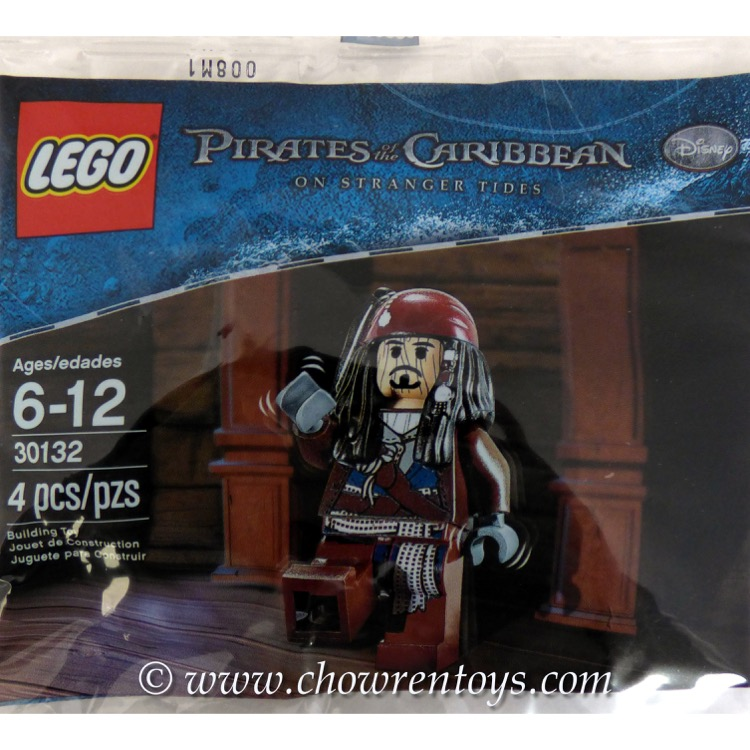LEGO Pirates of the Caribbean Sets: 30132 Voodoo Jack Sparrow NEW
