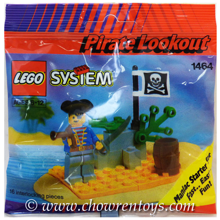 lego pirates sets 1464 pirate lookout new - Lego Pirate