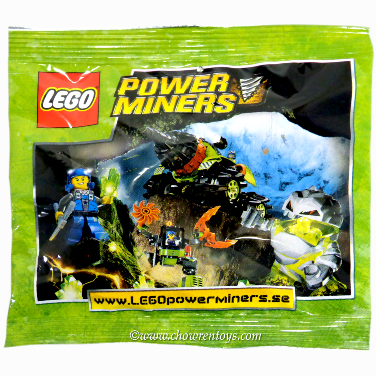 LEGO Power Miners Sets: 4559288 Power Miners Promotional Polybag NEW