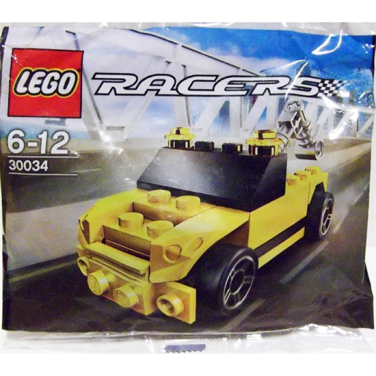 LEGO Racers Sets: Tiny Turbos 30034 Tow Truck NEW