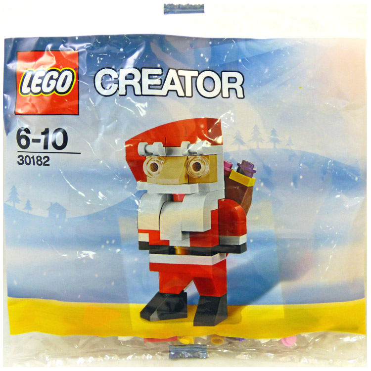LEGO Seasonal Sets: Holiday 30182 Santa NEW