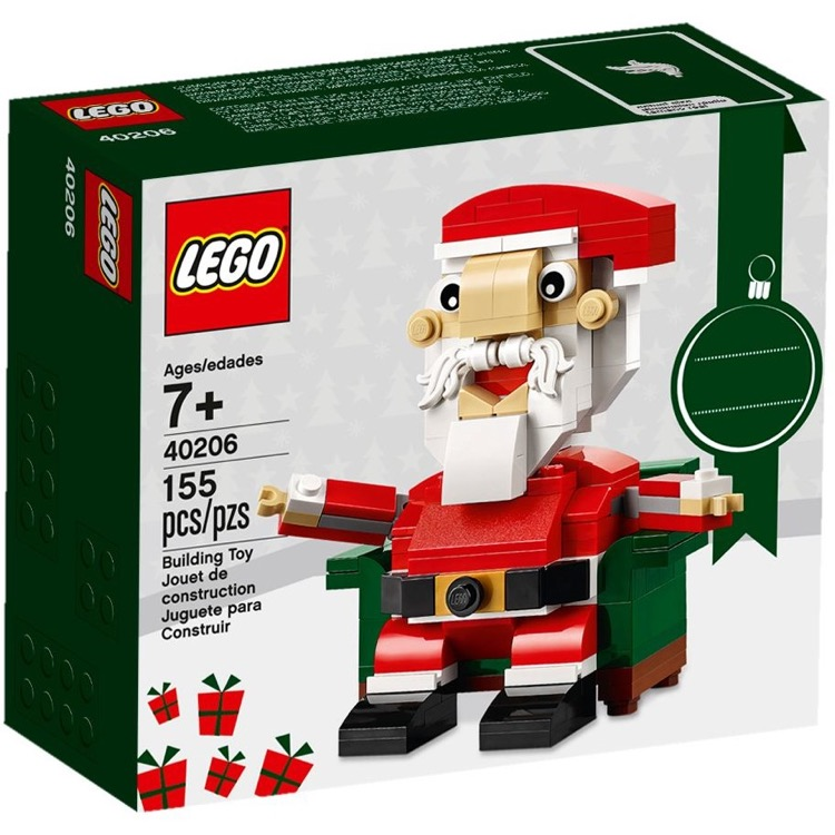 LEGO Seasonal Sets: Holiday 40206 Santa NEW