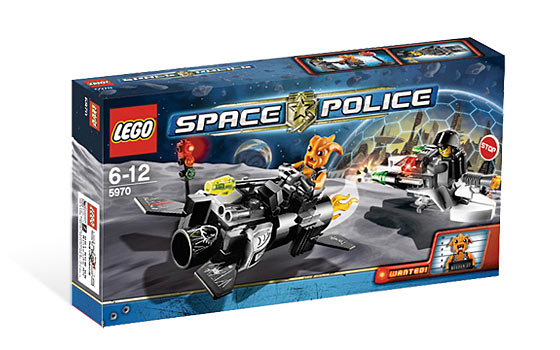 LEGO Space Sets: LEGO Space Police III 5970 Freeze Ray Frenzy NEW *Damaged Box*