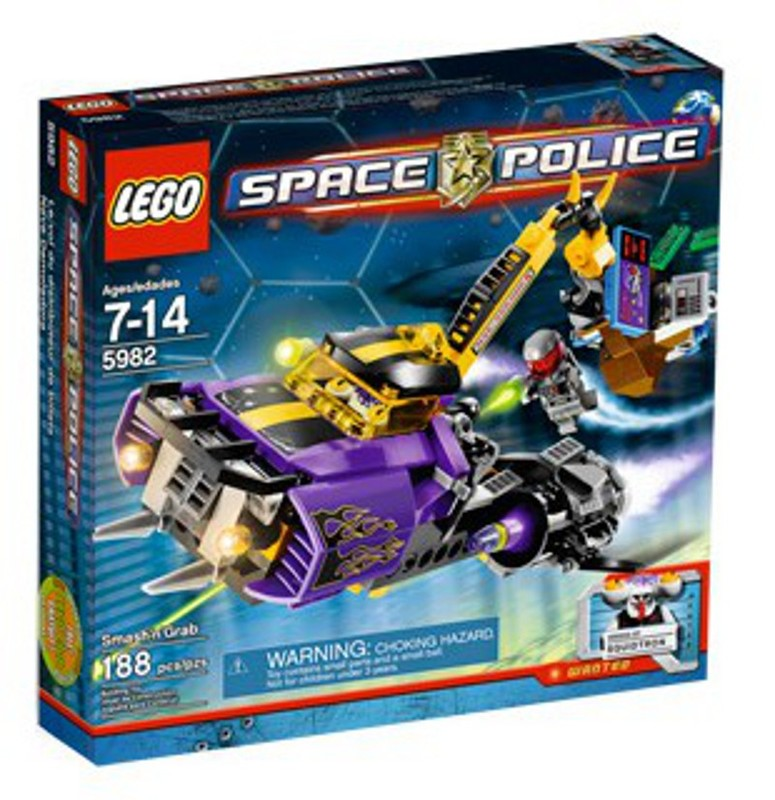 LEGO Space Sets: Space Police III 5982 Smash 'n Grab NEW