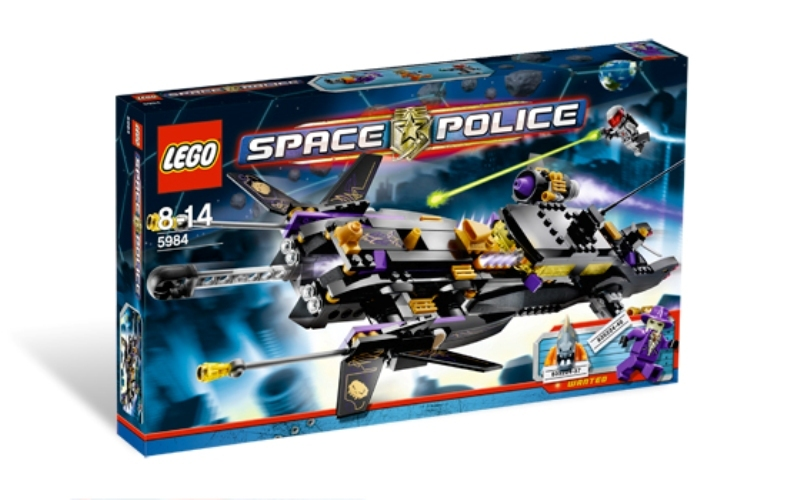 LEGO Space Sets: LEGO Space Police III 5984 Lunar Limo NEW
