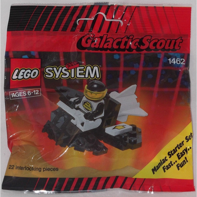 LEGO Space Sets: LEGO Blacktron II 1462 Galactic Scout NEW