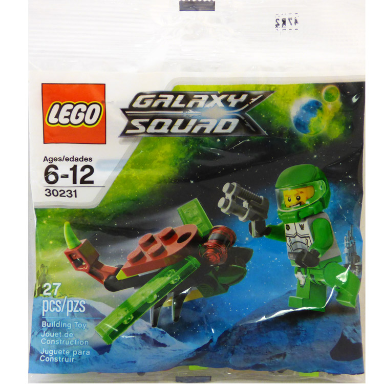 LEGO Space Sets: Galaxy Squad 30231 Space Insectoid NEW