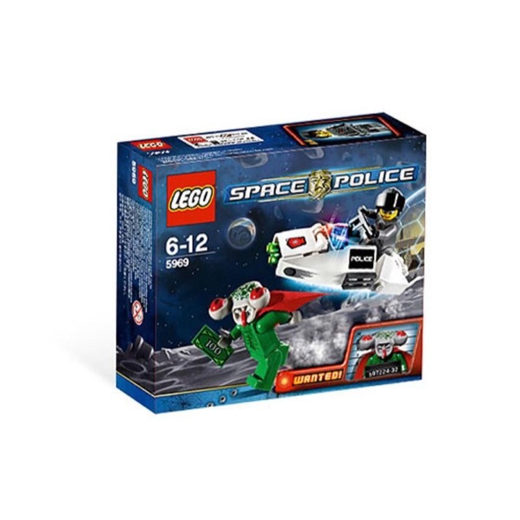LEGO Space Sets: LEGO Space Police III 5969 Squidman Escape NEW