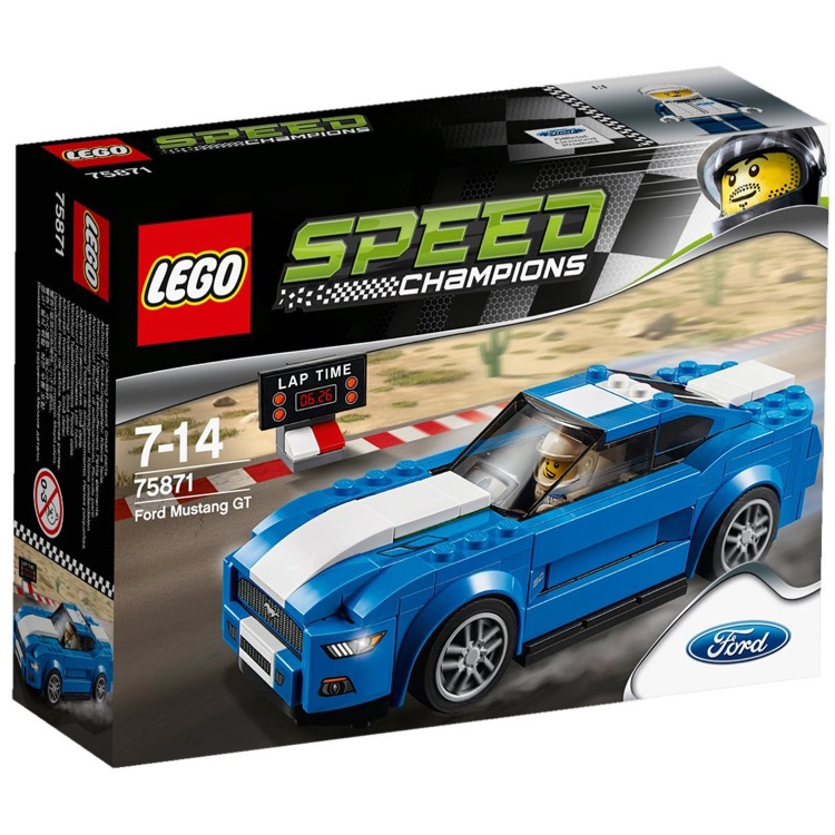 LEGO Speed Champions Sets: 75871 Ford Mustang GT NEW