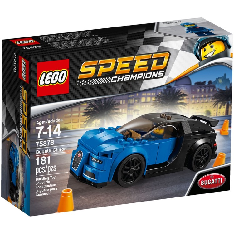 Lego Speed Champions Sets 75878 Bugatti Chiron New