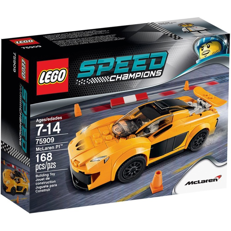 LEGO Speed Champions Sets: 75909 McLaren P1 NEW
