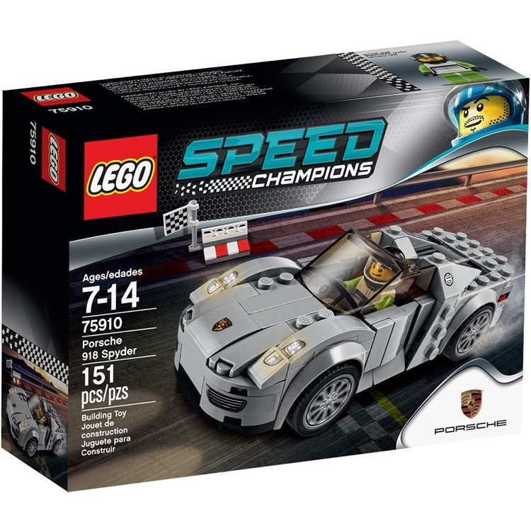 LEGO Speed Champions Sets: 75910 Porsche 918 Spyder NEW