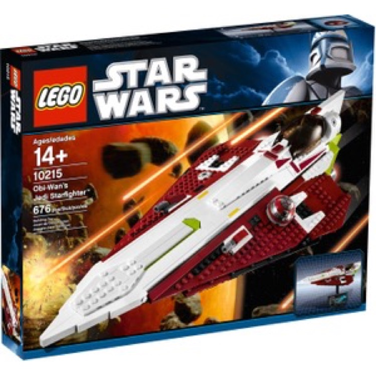 LEGO Star Wars Sets: Ultimate Collector Series Episode II 10215 Obi-Wan's Jedi Starfighter NEW