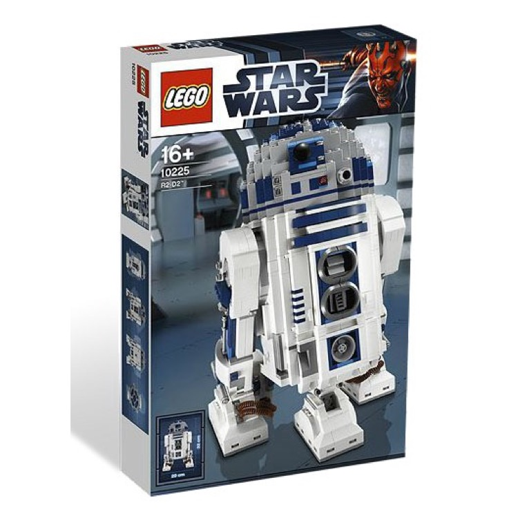 lego star wars sets ultimate collector series classic 10225 r2 d2 new. Black Bedroom Furniture Sets. Home Design Ideas