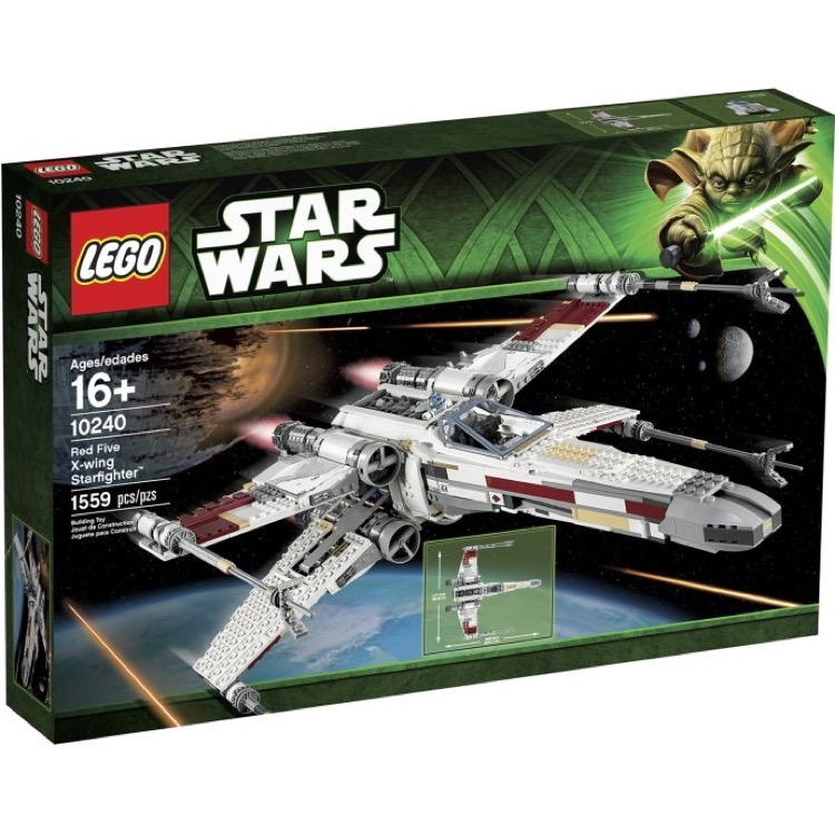 LEGO Star Wars Sets: Ultimate Collector Series 10240 Red Five X-wing Starfighter NEW