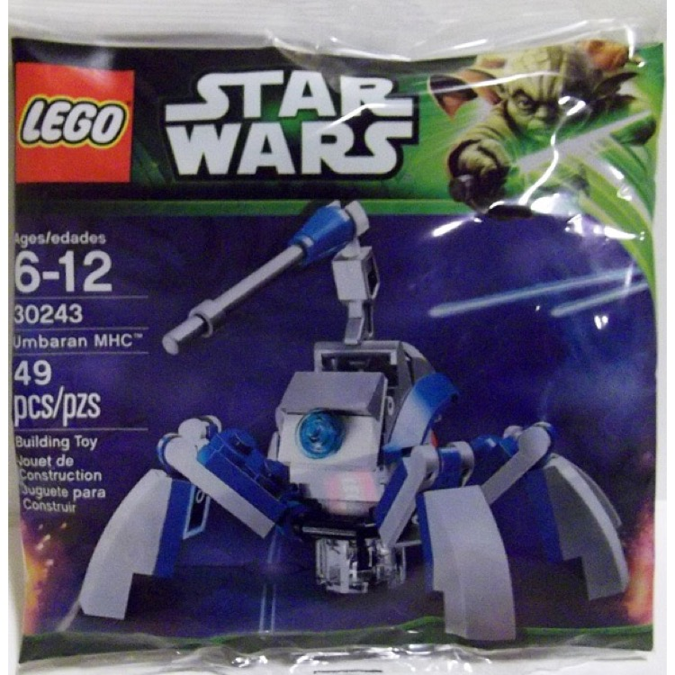 LEGO Star Wars Sets: Mini 30243 Umbaran MHC NEW