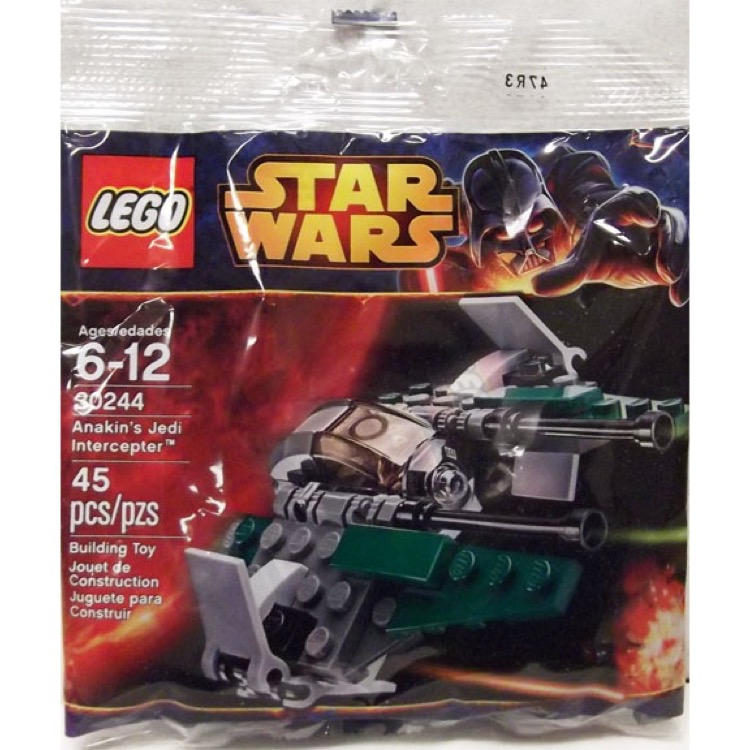 LEGO Star Wars Sets: Mini 30244 Anakin's Jedi Intercepter NEW