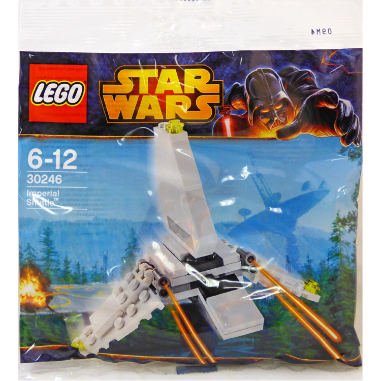 LEGO Star Wars Sets: Mini 30246 Imperial Shuttle NEW