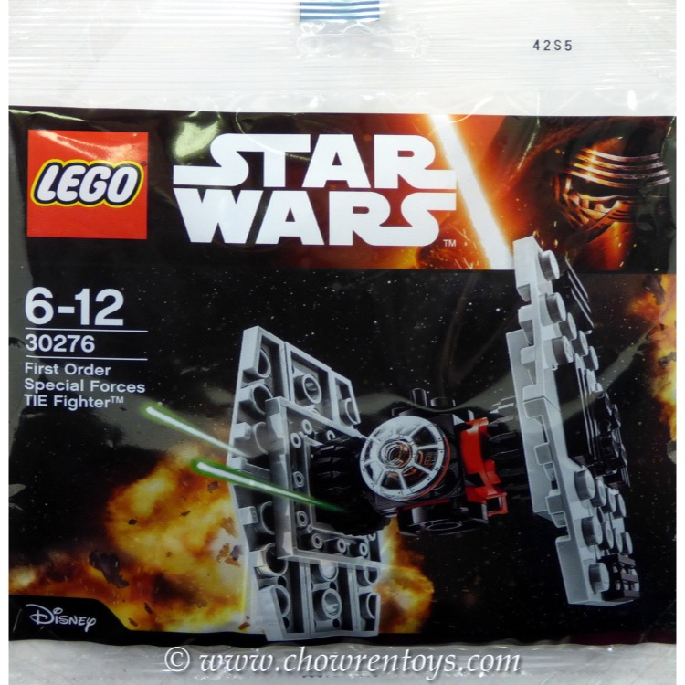 LEGO Star Wars Sets: Mini 30276 First Order Special Forces TIE Fighter NEW