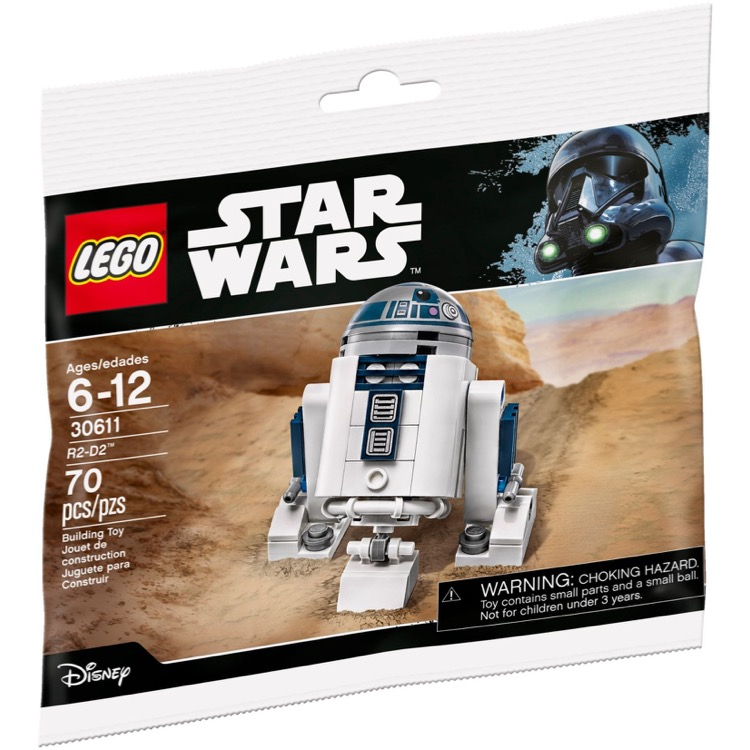 LEGO Star Wars Sets: 30611 R2-D2 NEW