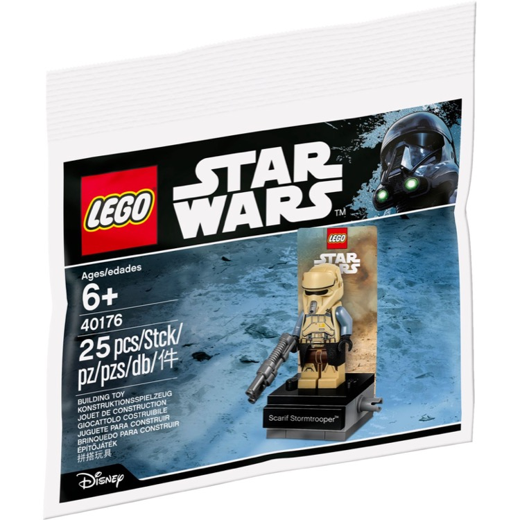 LEGO Star Wars Sets: 40176 Scarif Stormtrooper NEW