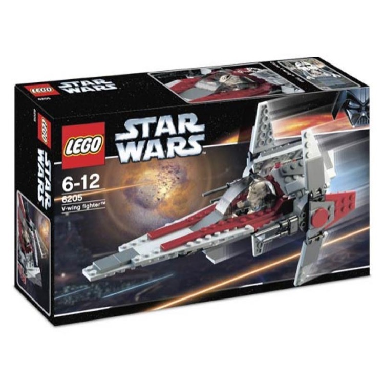 LEGO Star Wars Sets: Episode III 6205 V-Wing Fighter NEW