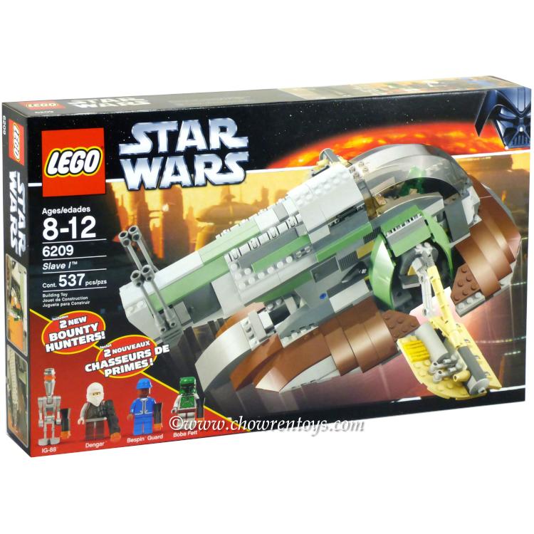 lego star wars sets classic 6209 slave i new